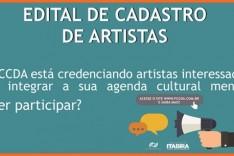 FCCDA lança edital para credenciar artistas para integrar seu calendário cultural em 2019 e 2020