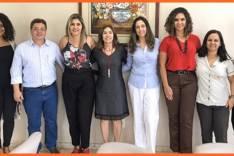 Equipe Acita Mulher participa de reunião na Prefeitura Municipal