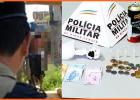 Trio é preso vendendo drogas no Carnaval de Bela Vista