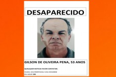 Esta desaparecido Gilson Oliveira Pena