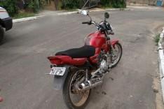 PM após denuncia anônima localiza e recupera motocicleta furtada escondida no Pedreira