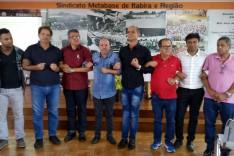 Encontro no Sindicato Metabase reúne principais sindicatos do Brasil.