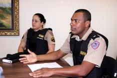 Tenente da PMMG foi a câmara apresentar queda no índice de violência em Santa Barbará