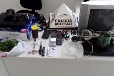 PM prende casal acusados de associação ao trafico de drogas na Vila Santa Isabel