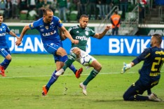 Na raça, Cruzeiro conquista importante vitória sobre o Palmeiras fora de casa