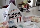 PM PRENDE JOVEM DE PASSABEM ACUSADO DE TRAFICO DE DROGAS NO BECO JOSE GETÚLIO NO ELDORADO
