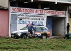 BANDIDO ARROMBA OFICINA DANIFICA MOTO E FURTA VARIAS FERRAMENTAS NO JUCA ROSA