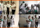 HNSD REALIZA BLITZ PARA CONSCIENTIZAÇÃO DA IMPORTÂNCIA DO DESCARTE DO LIXO HOSPITALAR