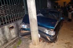 Homem atropela duas pessoas em passeio na rua Morro do Pilar no bairro Jardim das Oliveiras