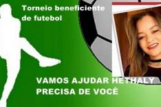TORNEIO DE FUTEBOL BENEFICENTE EM PROL DO TRATAMENTO DE HETHALY NO BAIRRO PEDREIRA