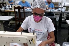Projeto Máscara para Todos reúne mais de 40 costureiras de Brumadinho