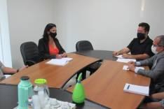 Prefeitura e Acita discutem projetos de auxílio a empresários e apoio na emissão de guias aos contribuintes