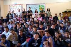Comissários da Juventude realiza palestra para orientar alunos e profissionais de educação