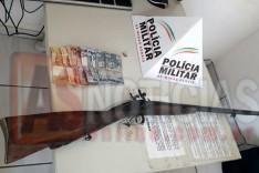 Militar de folga apreende adolescente com espingarda no bairro Santa Ruth em Itabira