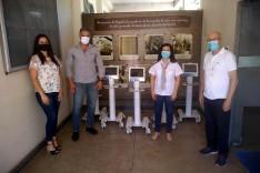 FIEMG e SIME doam ventiladores pulmonares e bombas de infusão para o Hospital Margarida
