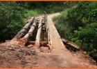 Ponte ou pinguela? Moradores de Itauninha querem saber da prefeitura de Santa Maria o que estava sendo construído lá