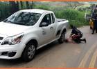 Adolescente morre após colidir bicicleta contra caminhonete do SAAE na estrada sentido ao Distrito do Carmo