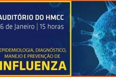 HMCC promove palestras e treinamentos sobre Influenza