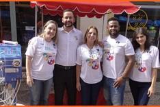 Dia Mundial do Rim é lembrado pelo HNSD durante Feira de Artesanato no Largo do Batistinha