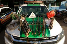 18 pescadores foram detidos e multados em quase R$ 19 mil por pesca proibida em Ipatinga