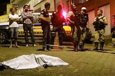 Homem é morto a tiros nesta madrugada de domingo no bairro Bela Vista em Itabira