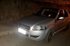 Denuncia ajuda PM a localizar e recuperar Fiat siena roubado em Caeté abandonado no bairro Machado