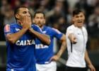 Cruzeiro luta, mas sai derrotado pelo Corinthians em Itaquera