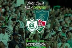 América x Fluminense: venda de ingresso começa nesta quinta