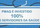 100% do Pmaq investido nos servidores
