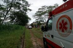 Homem é atropelado por locomotiva da Vale, quando andava sobre os trilhos no bairro São Bento em Itabira