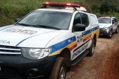 Bandidos armados roubam carga de caminhão no bairro Ribeira de Baixo em Itabira