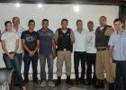 VEREADORES SE REUNEM COM NOVO COMANDANTE DA 17ª COMPANHIA DA POLÍCIA MILITAR INDEPENDENTE