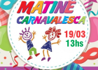 Matinê de carnaval no Bela Camp neste domingo