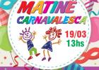 Matinê de carnaval no Bela Camp neste domingo