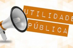 Utilidade Pública – Interdição da rua Água Santa