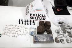 PM realiza operação no bairro São Bento prende três suspeitos e apreende muita maconha