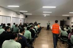 Defesa Civil realiza treinamento na madrugada para avaliar prontidão para emergência