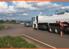Falta de sinalização tem facilitado para acidentes no Trevo da rodovia MG-129 próximo ao Barreiro