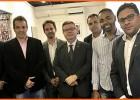 Reunião Presidente e comitiva de vereadores discutem aumento da CFEM com Anastásia