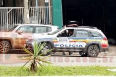 Empresario leva golpe de facada de um cobrador de divida no bairro São Pedro em Itabira