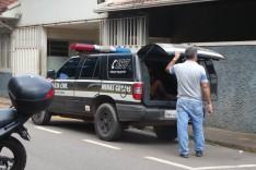 Policia Civil prendeu homem com quatro mandados de prisão em aberto por trafico de drogas no bairro Bethânia