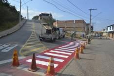 Prefeitura de São Gonçalo renova sinalização horizontal