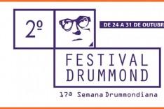 17ª Semana Drummondiana e 2º Festival Drummond celebram os 90 anos do poema No Meio do Caminho