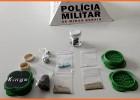 Policiais Rodoviários prendem Jovens com drogas na rodovia AMG-900 no bairro Conceição
