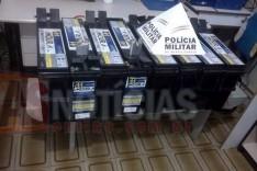PM de Ferros age rápido e evita furto de baterias em torre de operadora de telefonia na Zona Rural