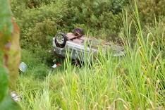 Aquaplanagem na rodovia MG-434 provoca mais um acidente em São Gonçalo do Rio Abaixo