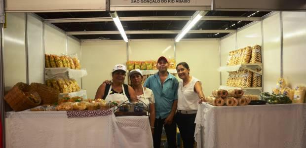 Produtores de São Gonçalo participam da Agriminas em Belo Horizonte