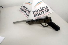 PM localiza fabricante e apreende arma de fabricação caseira no bairro Barreiro