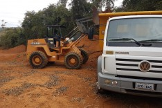 Estradas rurais – Mais agilidade nas obras de recuperação com novo contrato da Prefeitura