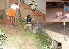HOMEM COM SINTOMAS DE EMBRIAGUES FICA ENTALADO ENTRE BARRANCO E MURO NO BAIRRO PENHA